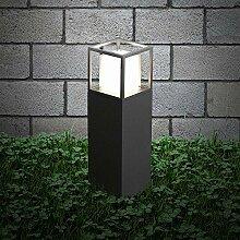 s.LUCE LED Sockelleuchte Cube 30cm Poller 10W LED