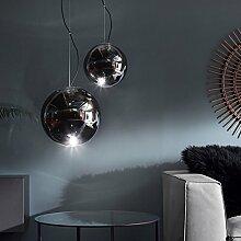 s.LUCE Sphere 30 rauchige Pendelleuchte Glaskugel