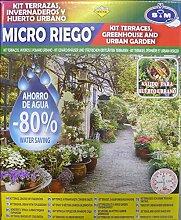 S & M Kit städtischen Bewässerung Tropfen/Gewächshaus/Garten, Schwarz
