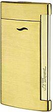 S.T. Dupont 027711 Feuerzeug Slim 7 Or Brosse