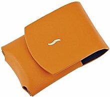 S.T. Dupont Lederetui Orange für Dupont Feuerzeug