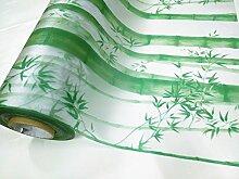 S.Twl.E Bambus statische freien Kunststoff Fenster film frosted Sonnenschutz Licht undurchsichtigen Fenster Aufkleber bad Bambus 6 0 cm W*1 M