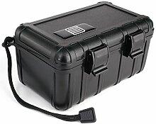 S3 Reisehumidor Acryl schwarz für ca. 10-15