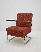 S411 Sessel mit verchromtem Gestell von Mücke