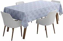 S4Sassy Blau Akelei Star Blumen- Tischdecken für