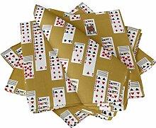 S4Sassy Gold Schürhakenkarte mischen Esstisch