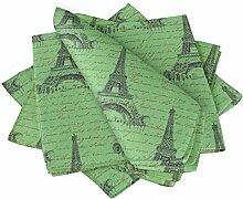S4Sassy Grun Text & Eiffelturm architektonisch