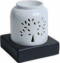 Saakalya Elektrische Duftlampe aus Keramik