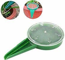 Saatgut-Spender, Gartengerät 5 Zahnräder können