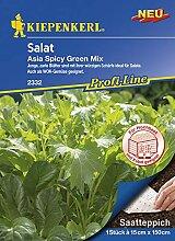 Saatteppich Salat Asia Spicy Green Mix (15cm x
