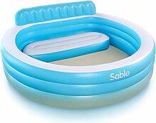 Sable Aufblasbarer Familien-Pool für Wasserspiele
