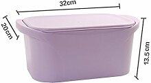 sachen, sachen arrangement - box, garderobe kiste,nordische lila trompete