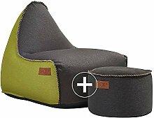 SACKit - RETROit Canvas - Indoor Sitzsack mit