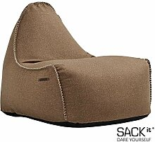 SACKit - RETROit Medley Sand - Indoor Sitzsack mit