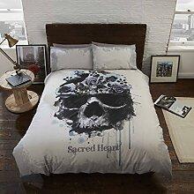 Sacred Heart Bettwäsche-Set, Bettbezug und