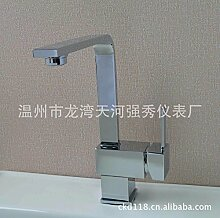 SADASD Badezimmer Waschbecken Wasserhahn Kupfer Küche Moderne hochwertige Badezimmer Waschtisch Mischer