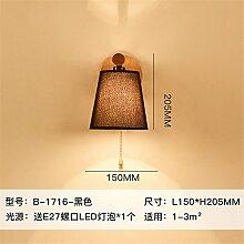 SADASD Tuch Holz Zugschalter Auge L 150* H 205 mm