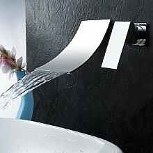 SADASD Wasserhahn moderne Badezimmer Armaturen Mischbatterie Einhebel Spüle Mischbatterie mit Ausziehbarem Spray (heißes und kaltes Wasser)
