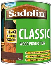 Sadolin Classic Wood Protection - Teak - 1 Litre