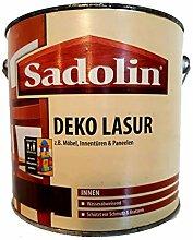 Sadolin Deko Lasur Innen, Farbton Bordeauxrot (