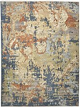 Sadraa Teppich Orientalischer Teppich 368x276 cm, Indien Handgeknüpft Designer