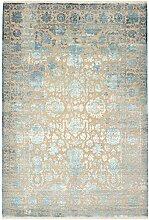 Sadraa Teppich Orientteppich 297x204 cm, Indien Handgeknüpft Designer
