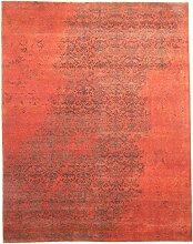 Sadraa Teppich Orientteppich 309x245 cm, Indien Handgeknüpft Designer