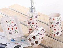 SAEJJ-bad liefert, keramische stoffe, hochwertiges badezimmer vier sätze