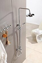 SAEJJ-Brauseset, Kupfer Armatur Dusche, Dusche, Regen Dusche Brauseset, korrosionsbeständige Ex-Wasserhahn duschsysteme