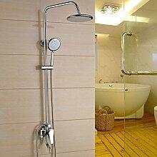 SAEJJ-Das Badezimmer Mit Der Dusche Wird Kupfer, Dusche Kalt - Und Warmwasser Wasserhahn Ventil