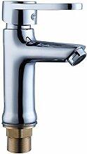 SAEJJ-Das Badezimmer Wasserhahn Kupfer Sitz Art Einheitlichen Art Kalten Und Warmen Wasserhahn