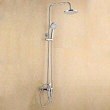 SAEJJ-Dusche Alle Kupfer Badezimmer Drei Kontrolle Sprinkler