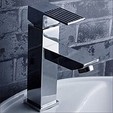 SAEJJ-Kalt - Und Warmwasser Tap Kupfer Wasserhahn Badezimmer Waschbecken Wasserhahn