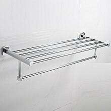 SAEJJ-Messing Handtuchhalter Badezimmer Regal Badezimmer Handtuchhalter