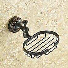 SAEJJ- Seifenschale an der wand hängen seife rack, europäischen stil kreative soap - regal, wall hanging regal badezimmer hängen soap - netz