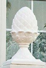 Säulenaufsatz Zapfen (S446) Gartendeko Dekoration