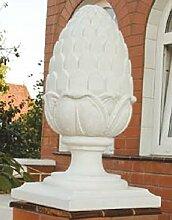 Säulenaufsatz Zapfen (S448) Gartendeko Dekoration