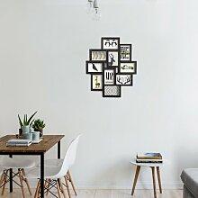 Saez Collage-Rahmen ClearAmbient Farbe: Schwarz