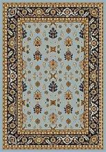 Safavieh aus1620–6070–4Preston Area Teppich Hardware PU/Polypropylen hellblau/navy 121x 170cm
