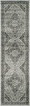 Safavieh Charlotte gewebter Teppich, VTG159-110, Hellblau / Mehrfarbig, 66 X 243  cm