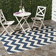 Safavieh Chevron Stripe-Teppich für Innen und