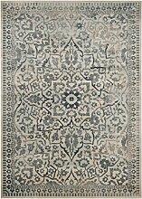 Safavieh Cordova gewebter Teppich, VTG175-7446, Sahne / Hellblau, 99 X 170  cm