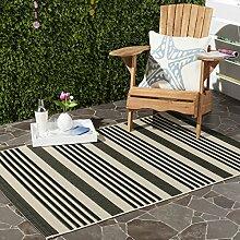 Safavieh Gestreifter Teppich für den Innen- und