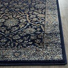 Safavieh Juliette Vintage inspirierte Teppich, Viskose, Navy / Hellblau, 243 x 335 cm
