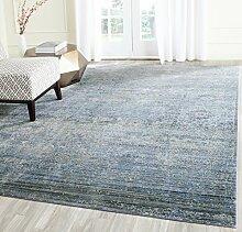 Safavieh Lulu gewebter Teppich, MYS920F, Blau /