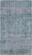 Safavieh Lulu gewebter Teppich, MYS920K, Lila /