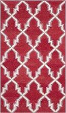 Safavieh Nico Handgewebtes Flachgewebe Teppich,