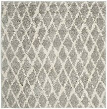 Safavieh Teppich Polypropylen Grau 154 X 154 cm