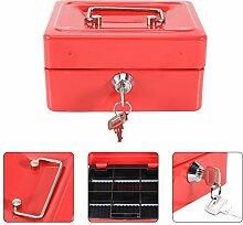 Safe Box - Mini Portable Stahl klein Abschließbar