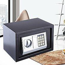 Safe Tresor Elektronisch Minitresor mit digitalem Zahlenschloss mit 4x Batterien (6.4L)